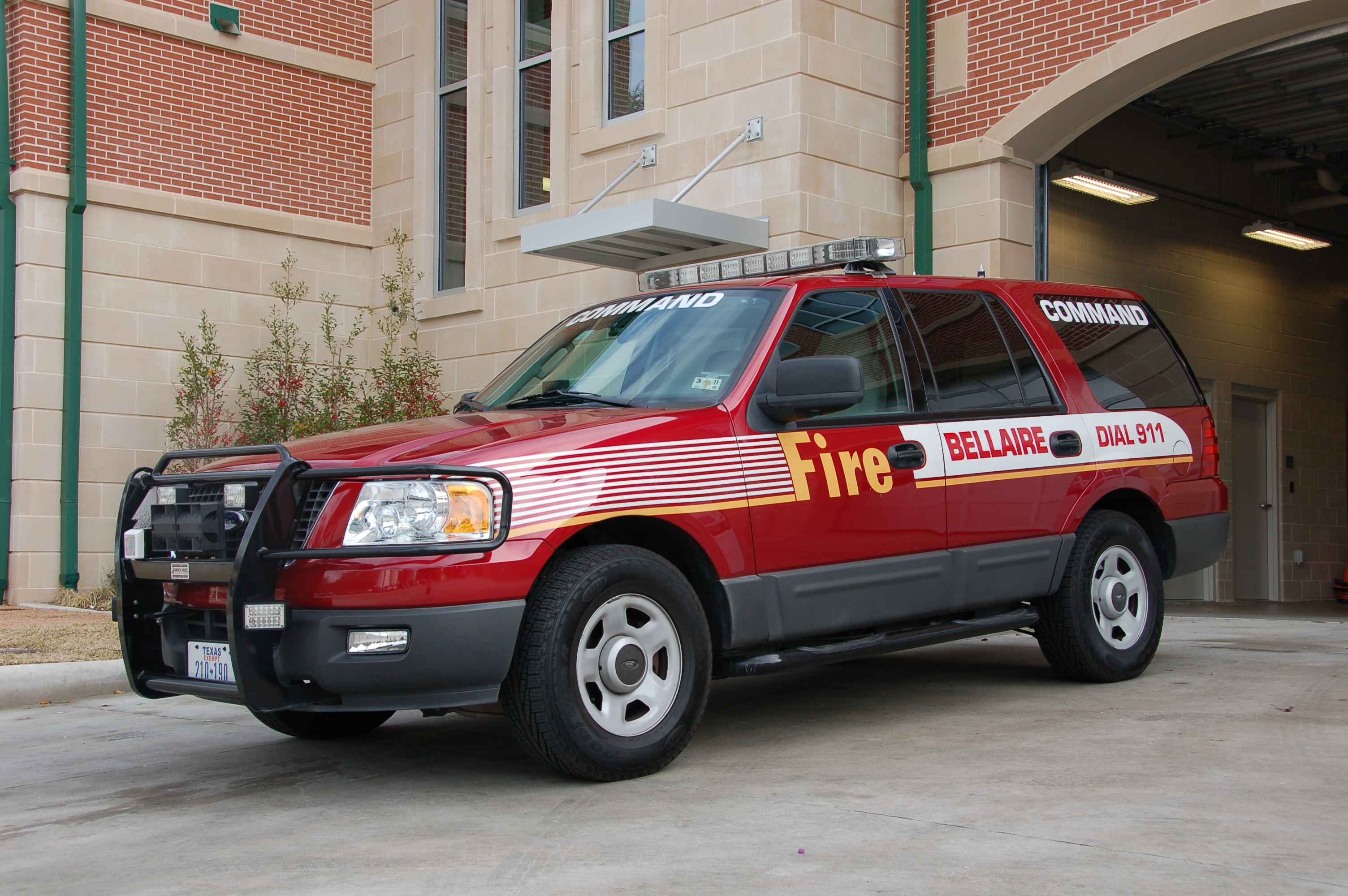 Fire Department Command Vehicle
