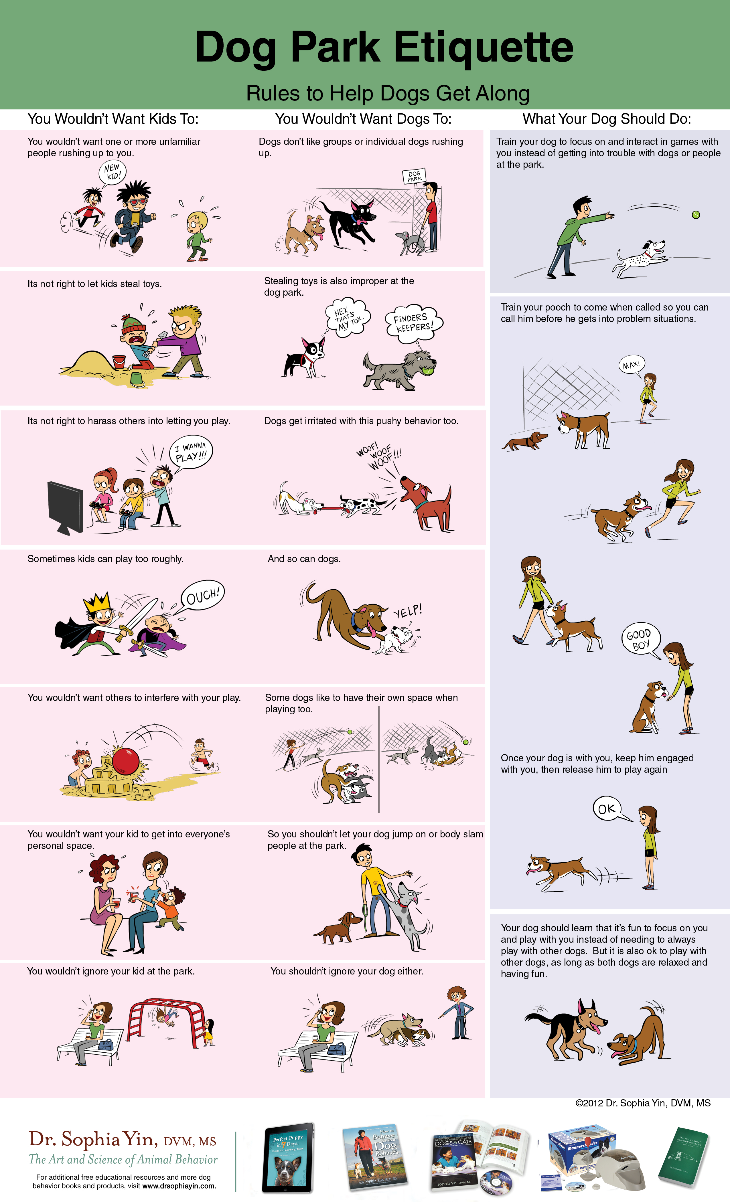 Dog Park Etiquette Rules to Help Dogs Get Along