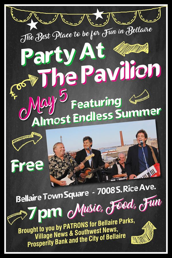 Party at the Pavilion May