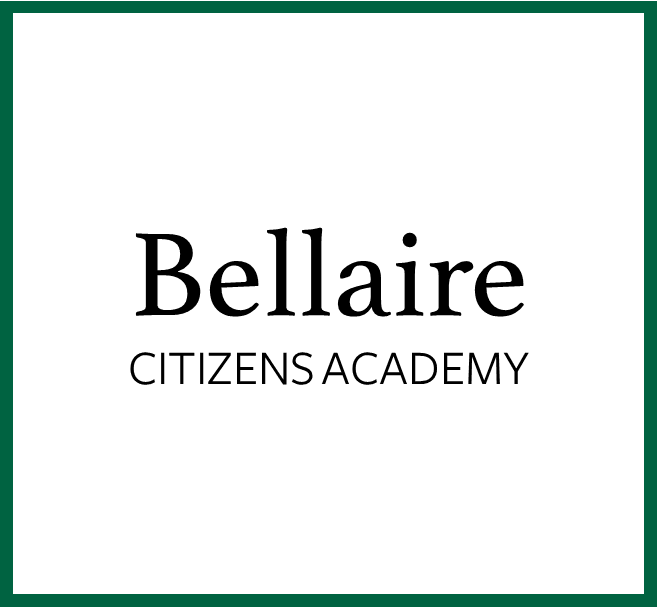 Bellaire Citizens Academy image