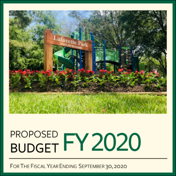 Proposed Budget FY 2020