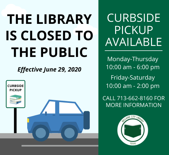 Library Curbside June 29