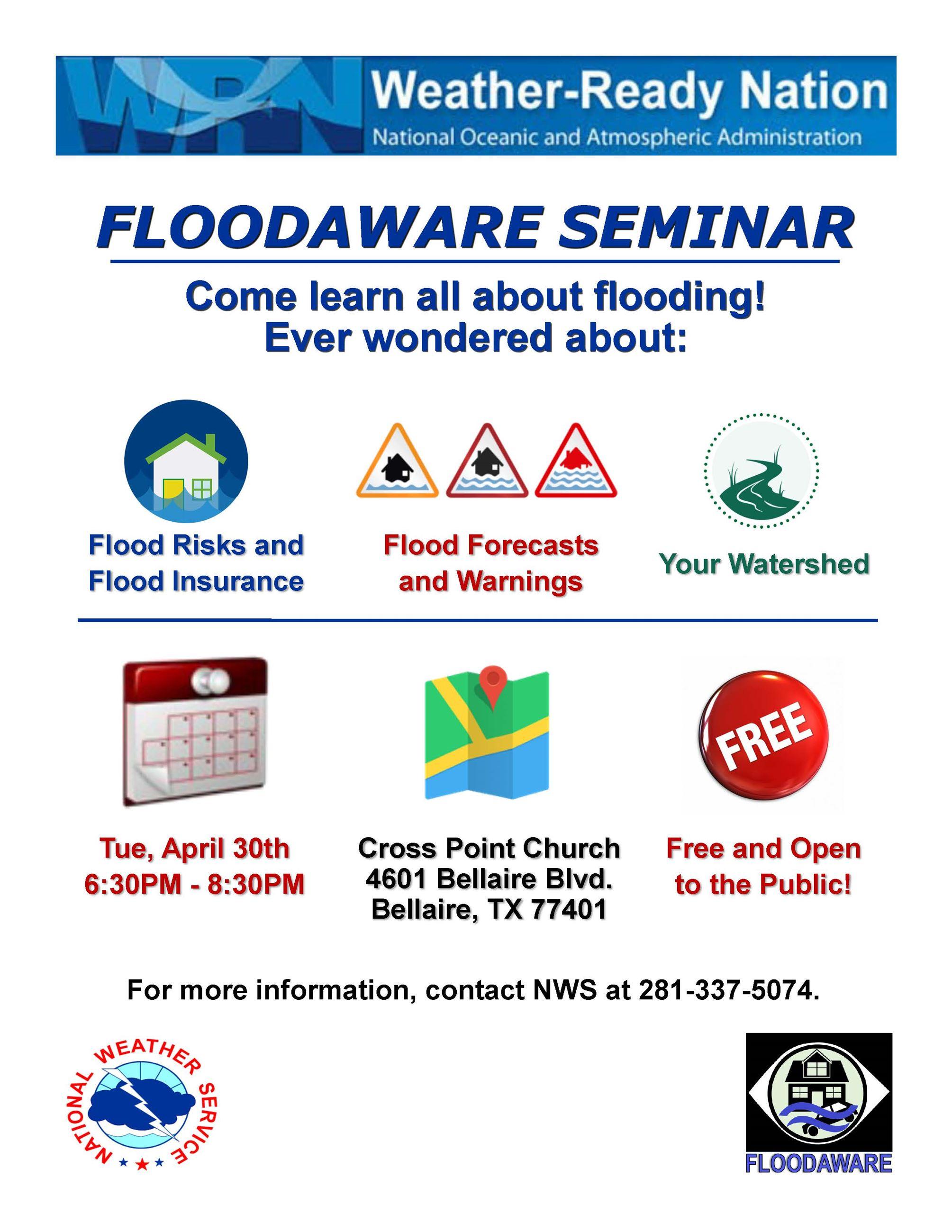 FloodAware Flyer_Bellaire2019
