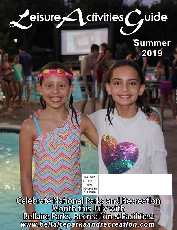 Summer 2019 Leisure Activities Guide Cover Opens in new window