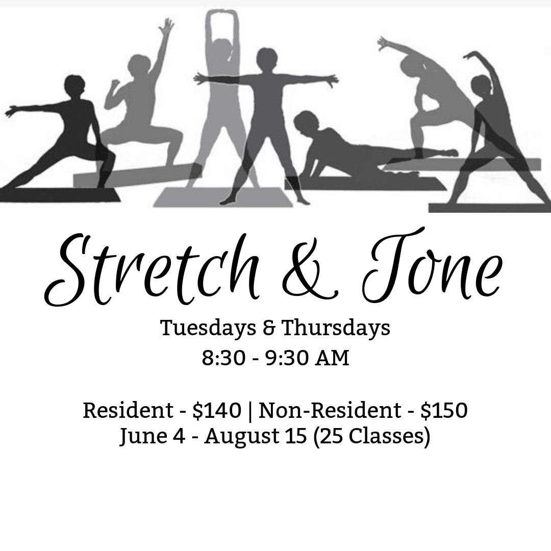 Stretch and Tone Flyer