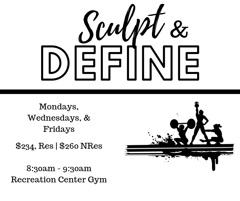 Sculpt and Define Flyer