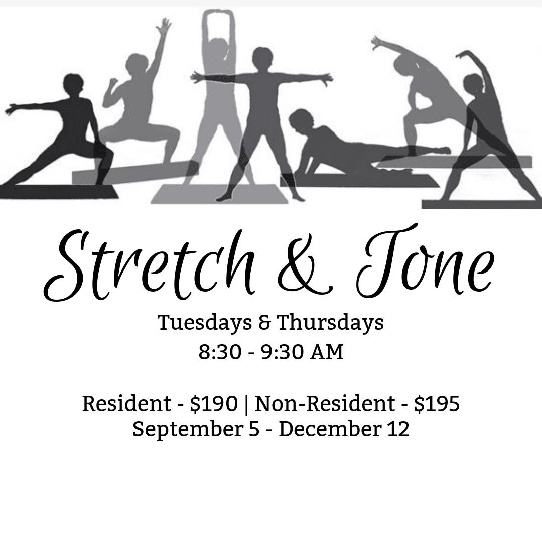 Stretch and Tone Fall Flyer