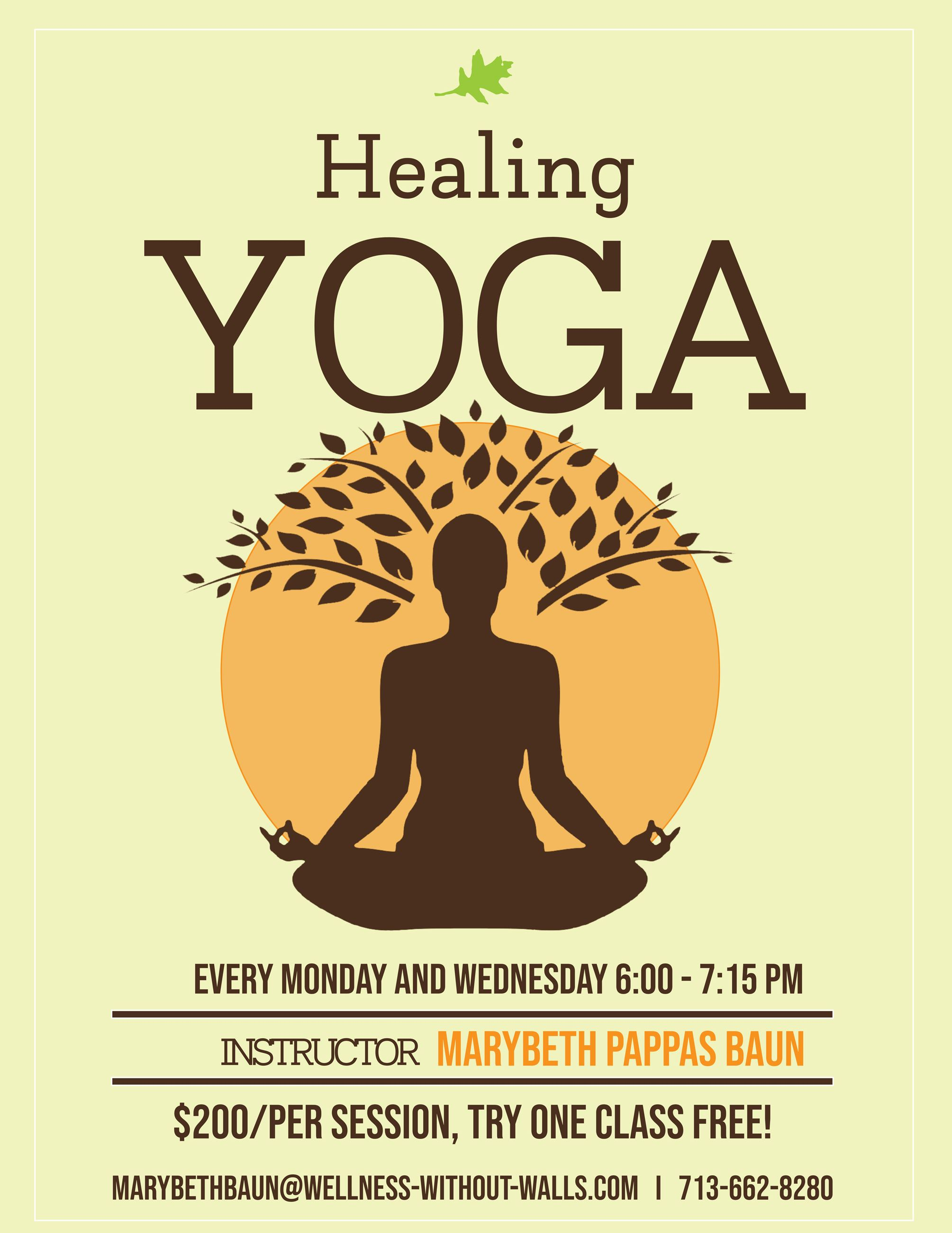 Healing Yoga Flyer Updated