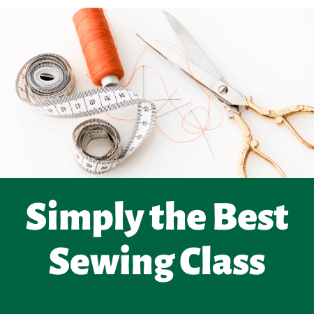 Simply the best sewing class