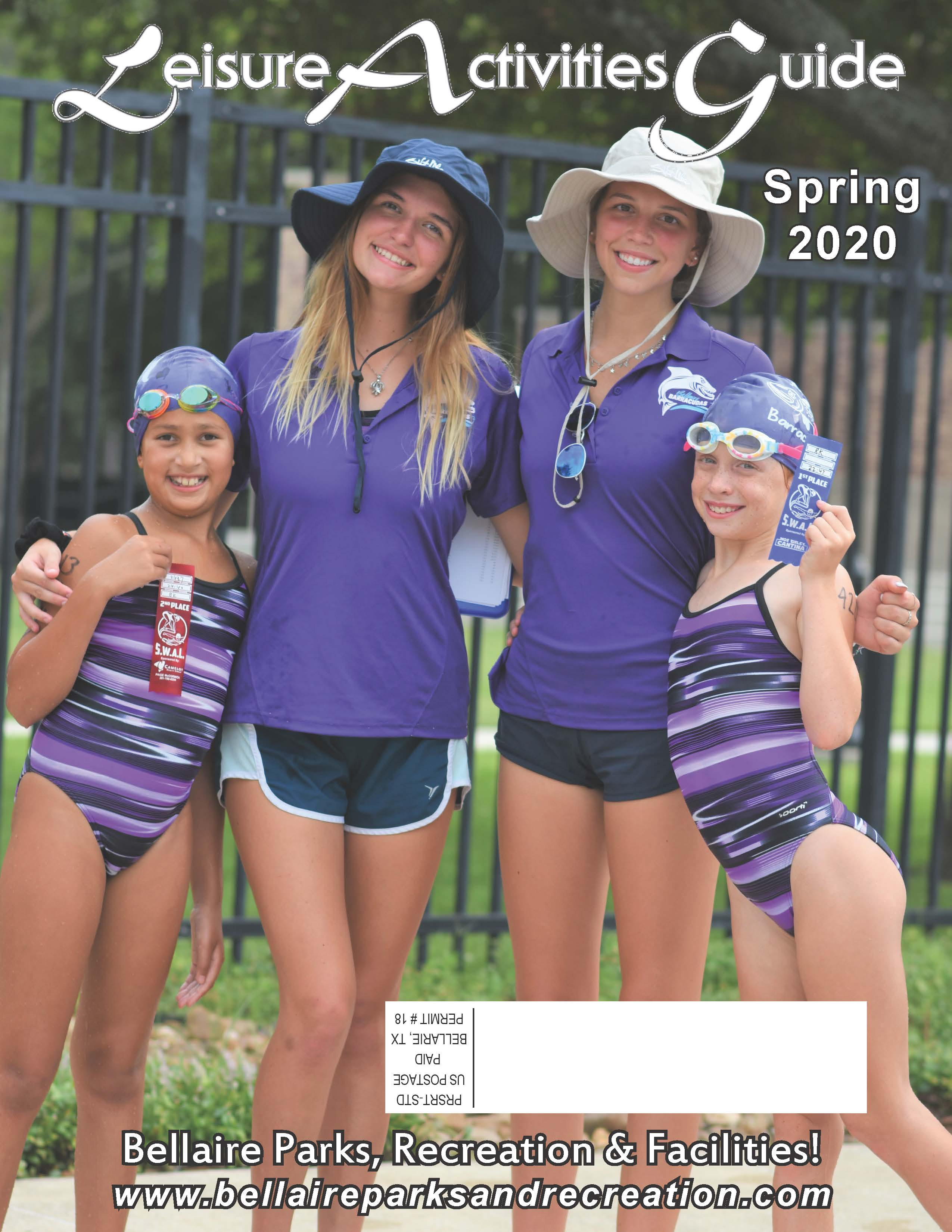 Spring 2020 Leisure Guide Cover